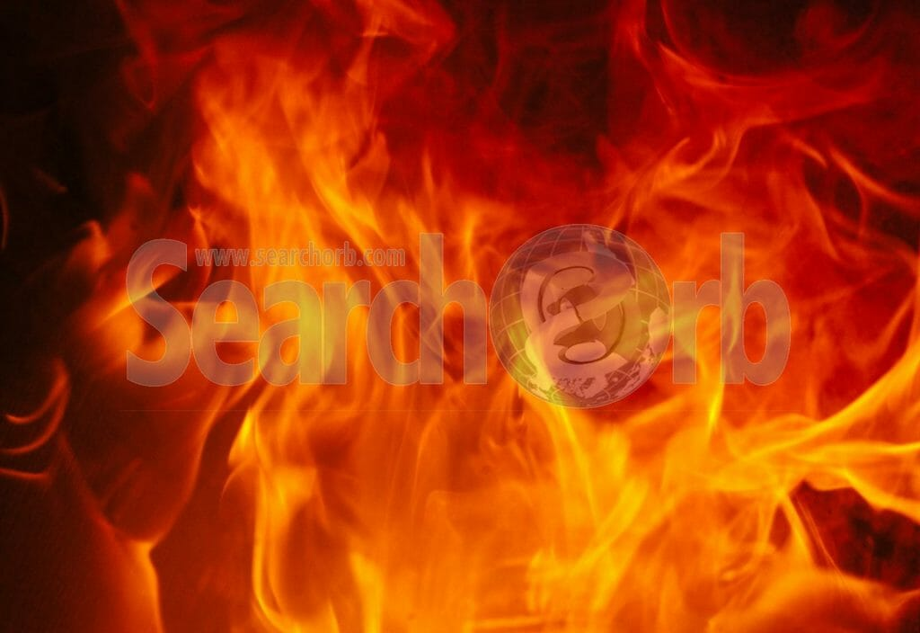 burning flames for searchorb marketing free image page