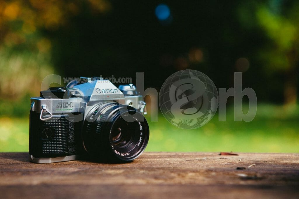 Vintage Canon Camera for searchorb marketing free image page