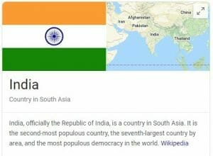 india flag and facts for seo agency in india article